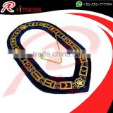 High quality Metal chain collar custom masonic chain collar