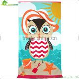 Microfiber full color printed beach changing towel Microfiber customer beach towel