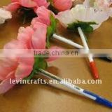 artificial flower ball pen