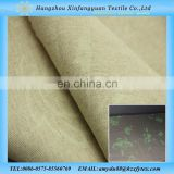 luminous fabric Linen cotton Blended fabric 55%linen 45%cotton