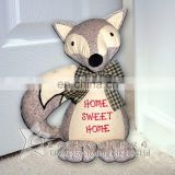 Fox Shape Cotton Toy Doorstop