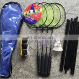 Badminton Racquets Sets Shuttlecock Racket Net For Fun