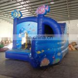 commercial grade customized Inflatable seaworld Combo,sea combo bouncer, inflatable catsle