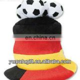 Outdoor Cap Headwear Germany Cheerleading Cap With Three Soccer Balls