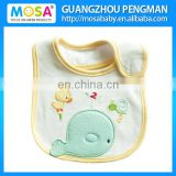 100% Soft Cotton Water-proof Boy Baby Bib The Blue Whale Pattern