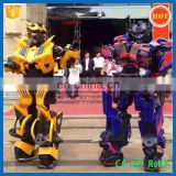 Halloween Costume Cool Cosplay Costumer Bumblebee and Optimus
