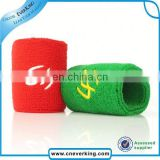 custom promotional sweatband with zipper pocket factory wholesale