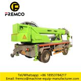 Homemade chassis 8 tons Small hydraulic mobile lifting crane