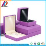 Fashion LED Light Ring/Necklace/Bracelet Packaging Jewelry Box