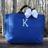 canvas tote bag with bow with good price from China