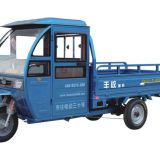 semi closed electric cargo tricycle for loading goods