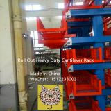 Steel Roll-Out Storage Racks Tianjin shining machinery CO.,Ltd  Made in China