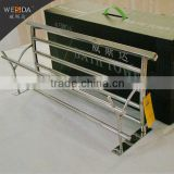WESDA heated bathroom towel rack polish towel rail towel rail with hook