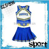 Sublimation printing cheerleading uniforms plus size wholesale cheap cheerleading uniforms