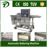 Automatic breaded peeled shrimps battering machine                                                                         Quality Choice