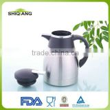 Hot selling double wall stainless steel vacuum thermos coffee pots with different capacities