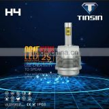 Hi/Low beam led headlight lighting system 3000k 30w 24v automotive car headlight led h4 yellow