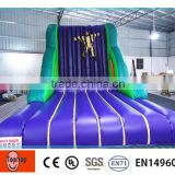 inflatable stick wall price, fun climbing wall sale, stick wall inflatable sports for children