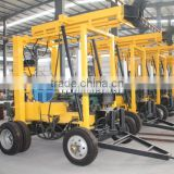trailer type hydraulic engineering drilling machine HF-3 for water well and core drilling