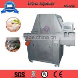 Automatic chicken meat brine injector machine, stainless steel meat injecting machine, brine injector