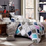 Fancy quilted embroidery design bedspreads patchwork bedding sets