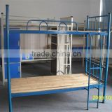 student or worker dormitory iron bunk bed