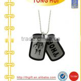 Batman dog tag with plastic frame necklace manufacturer jewelry