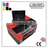 China Made High Resolution Flat Bed UV Printer With White Ink&Varnish