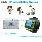 Long Range Wireless Restaurant Waiter Call System Watch Paging for Building siteTable Calling System