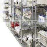 CE Approved Chrome Wire Shelving for Industry and Commercial Use