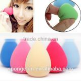 Waterdrop shape natural makeup puff sponge / cosmetic sponge powder puff                                                                         Quality Choice
