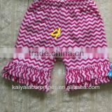 Chevron items!wholesale baby shorts with cotton ruffles zig zag pattern kids clothes shorts legging 2013
