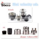 2016 Alibaba colorful style vapes 510 drip tip velocity rda 1:1 clone mini Velocity dripper in stock