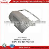 OEM Steel Tailgate For Chery QQ6 Car Auto Body Parts