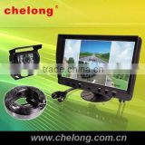 9 taxi lcd monitor video player inch lcd touch screen monitor portable with one CCD camera car tv
