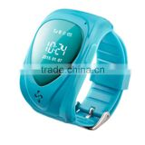 kids cell phone watch bracelet enfant gps tracker with SOS panic button, LBS+GPS, mobile apps and long battery life