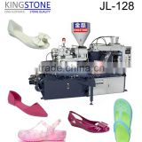 Dongguan Kingstone Shoes Machinery New Type PVC Jelly/Crystal Shoes Injection Moulding Machine JL-128
