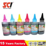 Bulk ink for Epson desktop printers, 9pins cartridges series ,100ML per bottle ; 6 color bulk dye ink