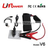 12000mA first aid kit usb car charger 12V portable auto moto jump starter with portable handle