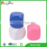 Partypro PU Foam Custom Logo Wholesale Custom Dice Cube Stress Ball