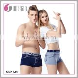 Factory Provide Best Design Men Seamless Jeans Boxer Shorts Unisex Underwear                                                                         Quality Choice