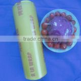 manufacturer high quality pvc cling film for food wrap food packaging film stretch film roll plastic