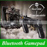 Ipega PG-9057 Fashion Motor Vibration Function Joystick Wireless Bluetooth Game Gun Gamepad Controller for Mobilephone Tablet PC