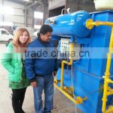 Dissolved Air Flotation unit used in municipal wastewater treatment/sewage treatment Dissolved Air Flotation unit
