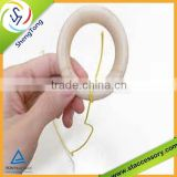 2015 new product wooden baby teething ring