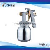Plastic Low Pressure Spray Gun Low pressure spray gun,strong plastic gun-body and paint cup,it is mainly used for interio
