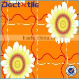 Cheap polyester satin fabric/ flower digital print silk satin fabric /floral printed satin fabric