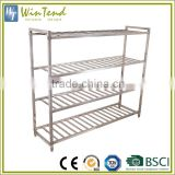 Warehouse pallet rack shelves, stainless steel warehouse storage rack                                                                         Quality Choice