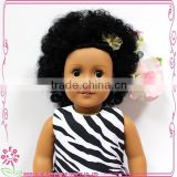 Wholesale kids doll toy kits 18 inch fashion vinyl material baby doll