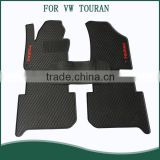 2016 New Custom Fit Anti Skid Easy Clean Rubber Car Floor Mats/Floor Liner For VW TOURAN Wholesale
